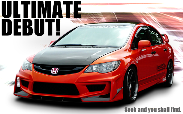 SEEKER FD2 civic Ultimate デビュー!